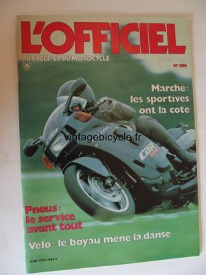 L'OFFICIEL du cycle et du motocycle 1987 - 07 - N°3516 juillet 1987