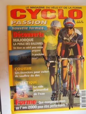 CYCLO PASSION 1995 - 09 - N°10 septembre 1995