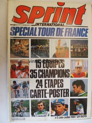 SPRINT INTERNATIONAL 1981 - 06 - N°03 juin / juillet 1981