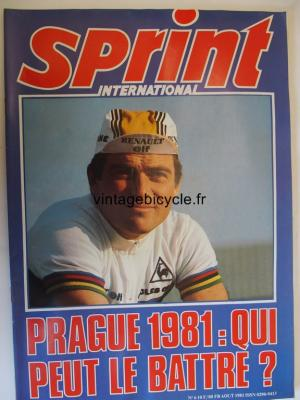 SPRINT INTERNATIONAL 1981 - 08 - N°06 aout 1981