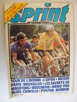 SPRINT INTERNATIONAL 1981 - 10 - N°08 octobre 1981