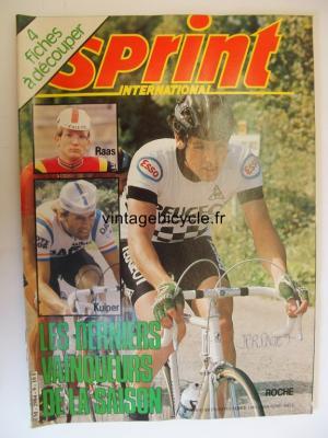 SPRINT INTERNATIONAL 1981 - 11 - N°09 novembre 1981