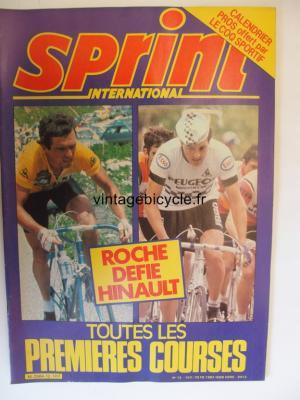SPRINT INTERNATIONAL 1982 - 03 - N°12 mars 1982