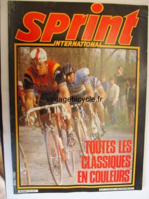 SPRINT INTERNATIONAL 1982 - 05 - N°15 mai 1982