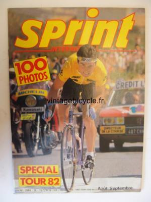 SPRINT INTERNATIONAL 1982 - 08 - N°18 aout /septembre 1982