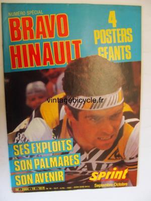 SPRINT INTERNATIONAL 1982 - 09 - N°19 septembre / octobre 1982