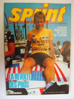 SPRINT INTERNATIONAL 1982 - 10 - N°21 octobre 1982