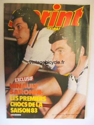 SPRINT INTERNATIONAL 1983 - 03 - N°25 mars 1983