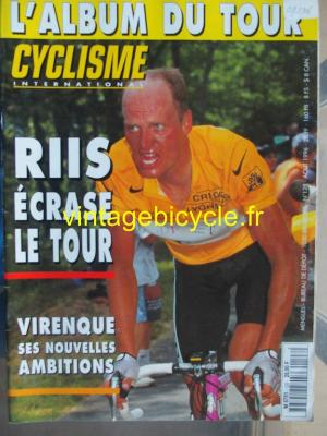 CYCLISME INTERNATIONAL 1996 - 08 - N°128 aout 1996