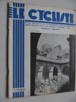LE CYCLISTE 1937 - N°06