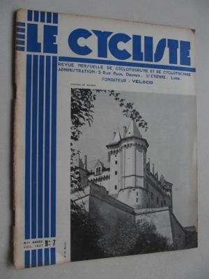 LE CYCLISTE 1937 - N°07