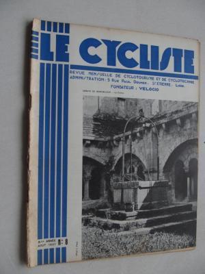 LE CYCLISTE 1937 - N°08