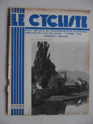LE CYCLISTE 1938 - N°02