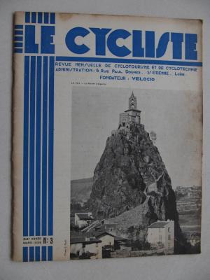 LE CYCLISTE 1938 - N°03