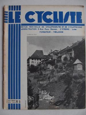 LE CYCLISTE 1938 - N°05