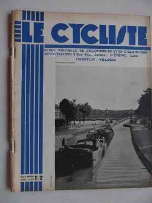 LE CYCLISTE 1938 - N°12