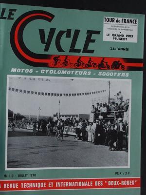 LE CYCLE 1970 - 07 - N°110 Juillet 1970