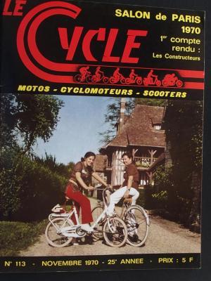 LE CYCLE 1970 - 11 - N°113 Novembre 1970