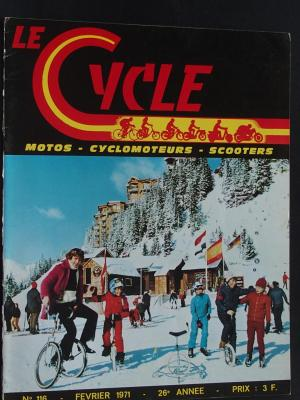LE CYCLE 1971 - 02 - N°116 Fevrier 1971