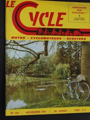 LE CYCLE 1971 - 11 - N°124 Novembre 1971