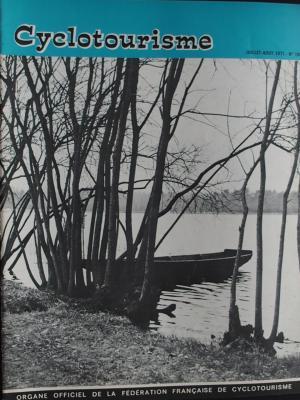 Cyclotourisme 1971 - 07 - N°188 Juillet Aout 1971