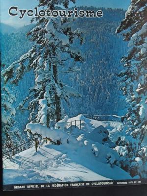 Cyclotourisme 1971 - 12- N°191 Decembre 1971
