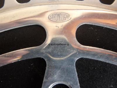 STRONGLIGHT Chainring 53/54 122mm NOS