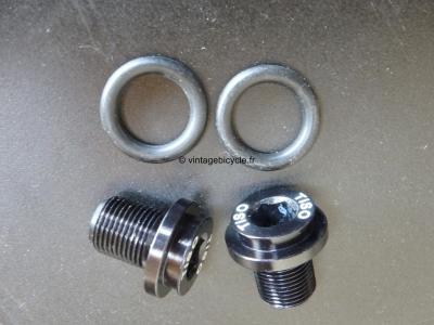 TISO Crank Bolts fits Truvativ bottom bracket D:12mm NOS (a pair)