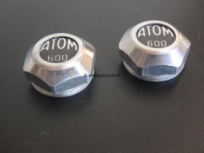 ATOM Pedal #600 Dust Caps Covers.  NOS