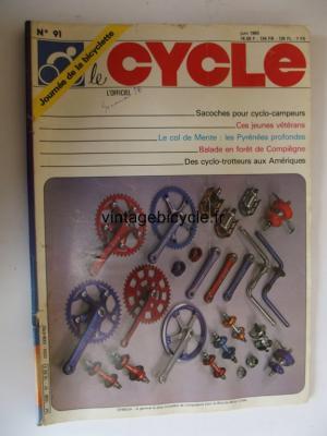 LE CYCLE l'officiel 1983 - 06 - N°91 juin 1983