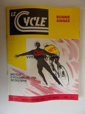 LE CYCLE 1972 - 01 - N°126 janvier / fevrier 1972