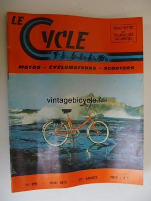 LE CYCLE 1972 - 05 - N°129 mai 1972