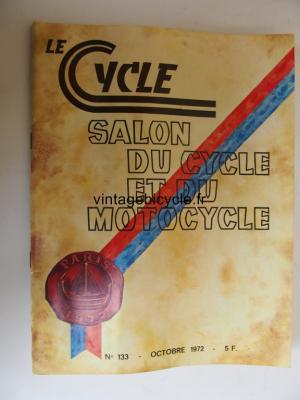 LE CYCLE 1972 - 10 - N°133 octobre 1972