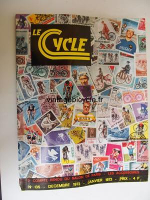 LE CYCLE 1972 - 12 - N°135 decembre 1972