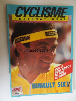 CYCLISME INTERNATIONAL 1986 - 07 - N°4 juillet 1986