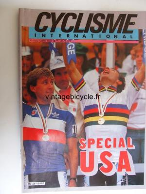 CYCLISME INTERNATIONAL 1986 - 10 - N°10 octobre 1986