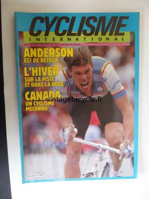 CYCLISME INTERNATIONAL 1987 - 01 - N°12 janvier 1987