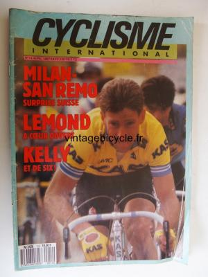 CYCLISME INTERNATIONAL 1987 - 04 - N°14 avril 1987