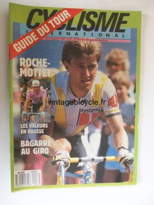 CYCLISME INTERNATIONAL 1987 - 07 - N°17 juillet 1987