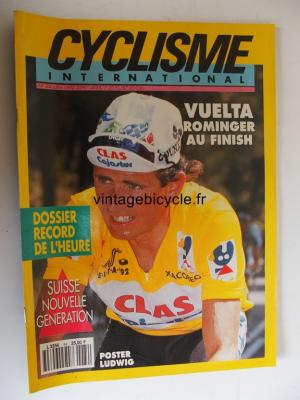 CYCLISME INTERNATIONAL 1992 - 06 - N°84 juin 1992