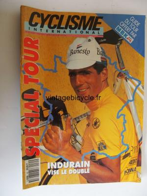 CYCLISME INTERNATIONAL 1992 - 07 - N°85 juillet 1992