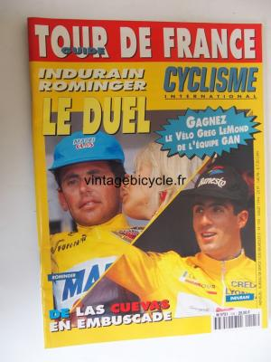 CYCLISME INTERNATIONAL 1994 - 07 - N°105 juillet 1994