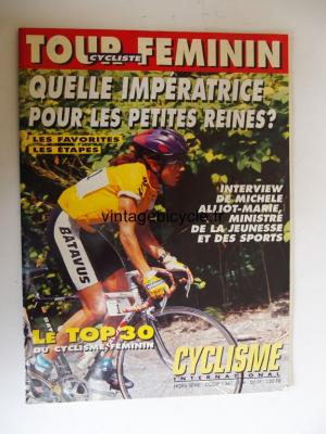 CYCLISME INTERNATIONAL 1993 - TOUR FEMININ