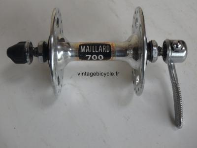 MAILLARD 700 PROFESSIONAL Moyeu avant grandes flasques 36t.