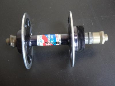 PELISSIER 2000 PROFESSIONEL Rear Hub no holes for the spokes.NOS
