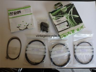 NOKON Low Friction Brake Cable System. MTB Bike Cycling Housing NOS Black