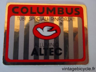COLUMBUS ALTEC ORIGINAL Tubes autocollants NOS