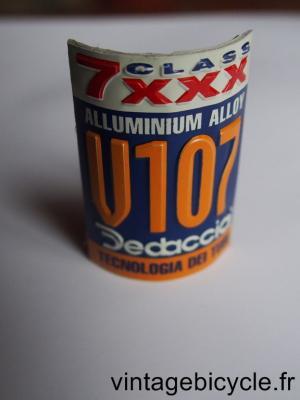 DEDACCIAI V107 ORIGINAL Tubes autocollants NOS