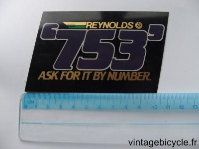 REYNOLDS 753 STICKER NOS