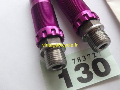 BICI – SPD Axle Titanium / Ergal 7075 T6 1 set R/L. NOS